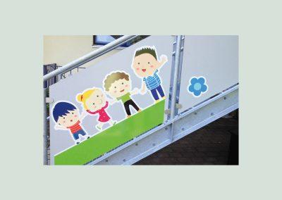 Kindergartenbeklebung