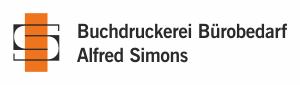 Logo Buchdruckerei Simons