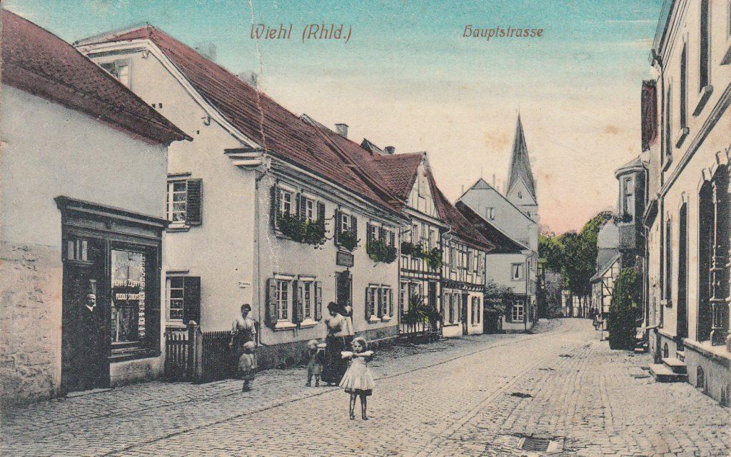 Gründungsgeschäft um 1915
