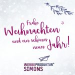 Werbeproduktur Weihnachtsgrüße