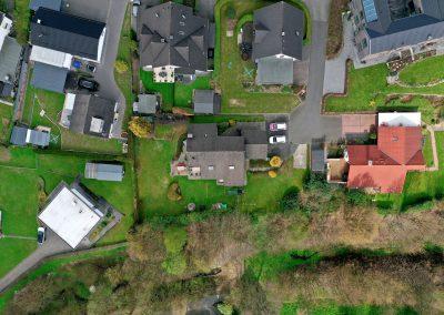 Drohnenfoto Wiehl Privathäuser